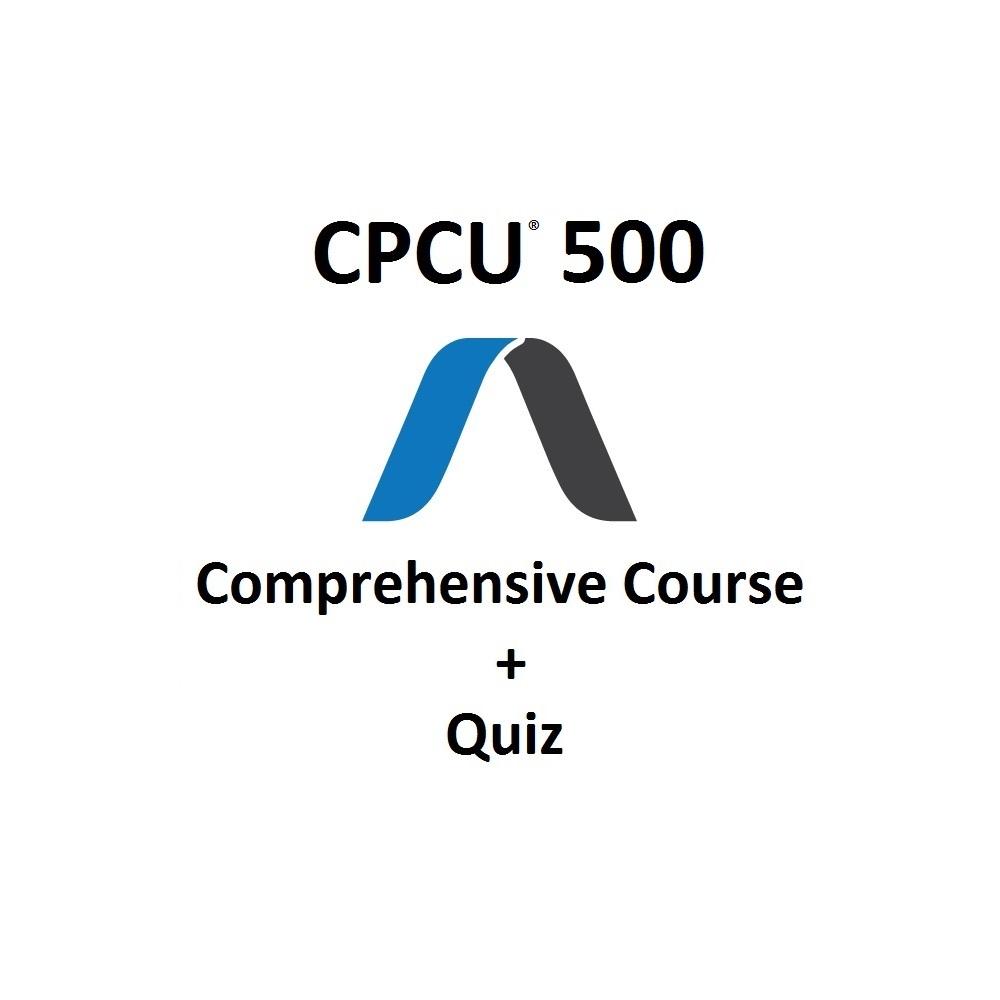 CPCU 500 Comprehensive Course
