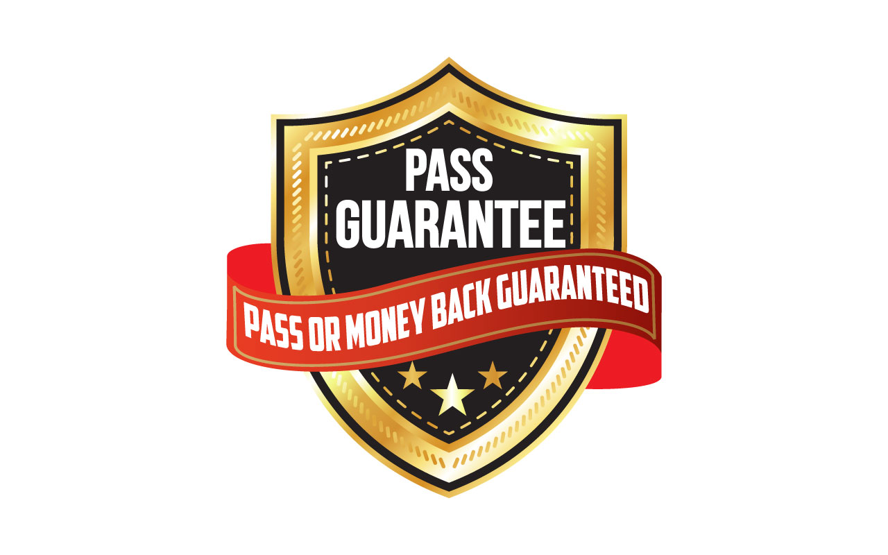 CPCU Money Back Guarantee Badge